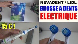 Brosse A Dent Electrique Lidl Nevadent Dazd 3 7 Test Avis Prix Notice Caracteristiques Youtube