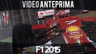F1 2015 - Video Anteprima - Gameplay ITA HD