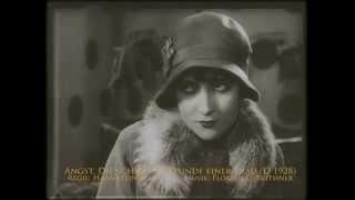 """""""Angst. Die schwache Stunde einer Frau"""" (D 1928) von Hans Steinhoff"""