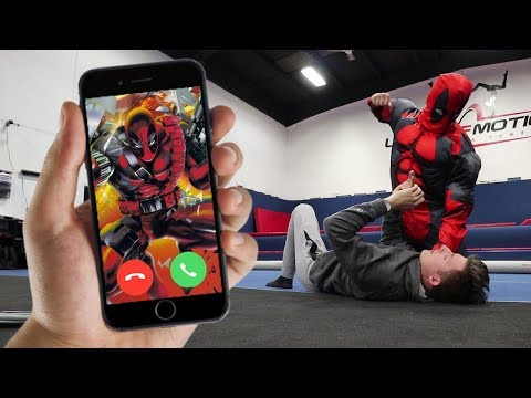 CALLING DEADPOOL ON FACETIME AT 3 AM!! (REAL ONE CAME)