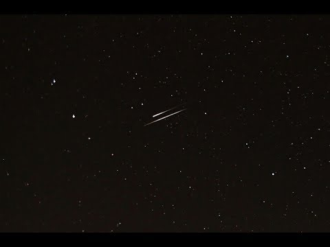 LIVE! The Geminids Meteor Shower