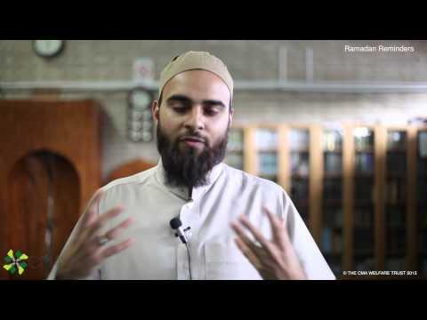 Daily Ramadan Reminder | Charity in Ramadaan | Ustadh Rehan Salim | Day 21