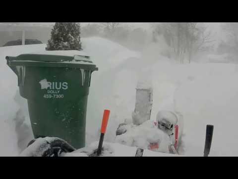 Blizzard 2017, Fredericton New Brunswick, Canada