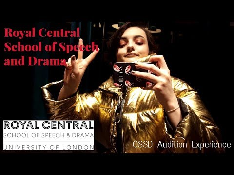 My Royal Central School of Speech and Drama (CSSD) Audition