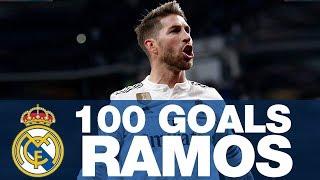 SERGIO RAMOS, 100 GOALS at REAL MADRID