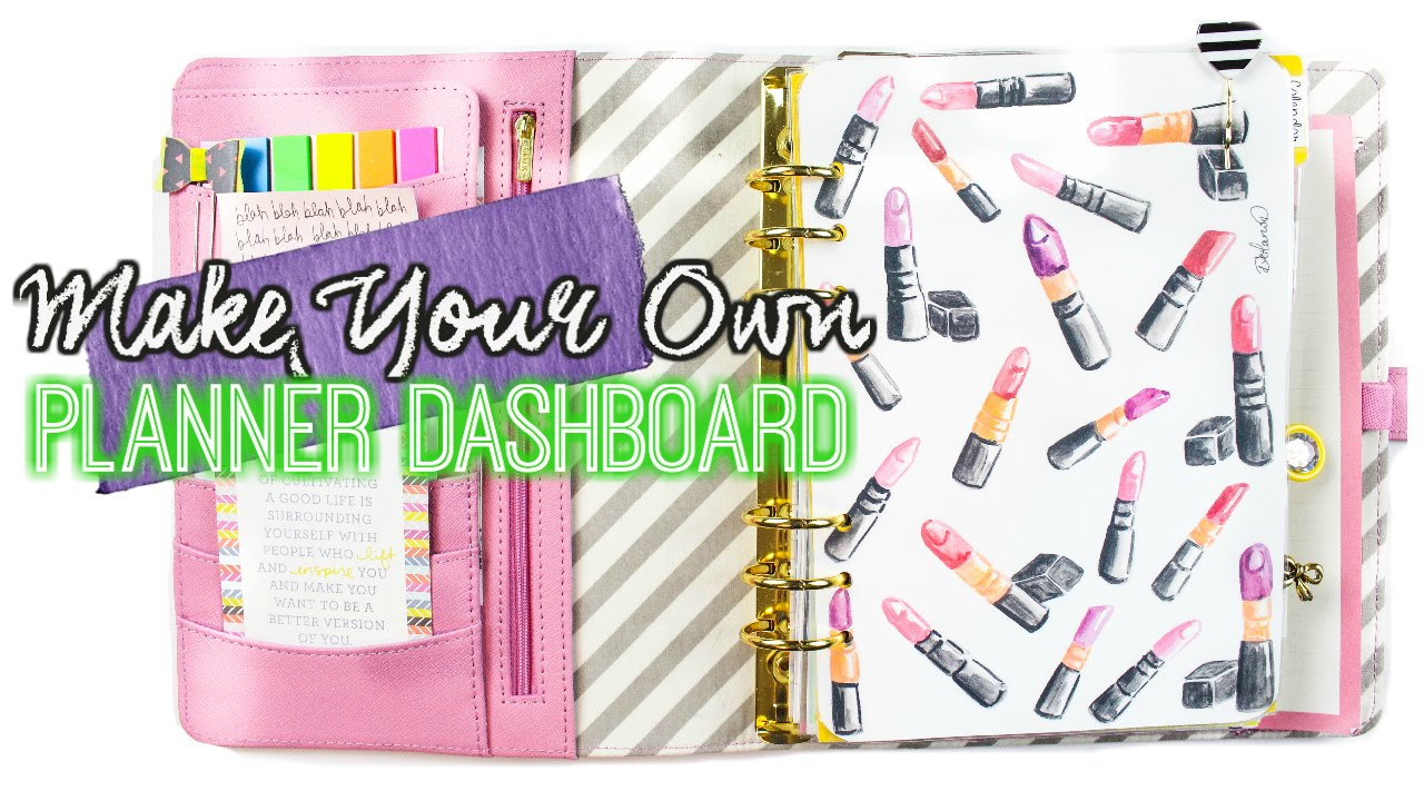 Make your own planner dashboard with any image for What is a planner dashboard