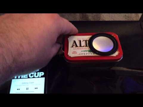 Altoids Speaker Tin Project