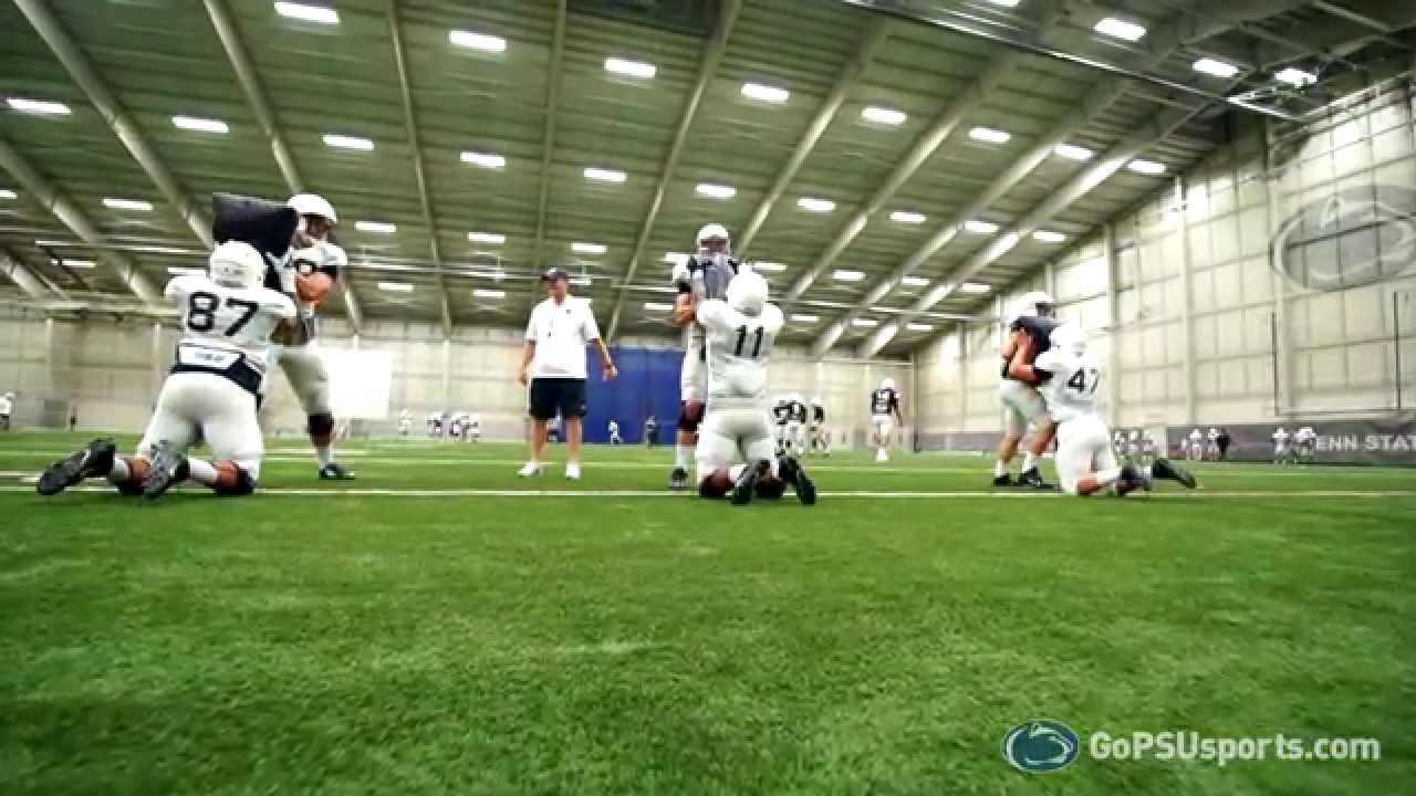 Penn State Football  Inside Training Camp Tight Ends