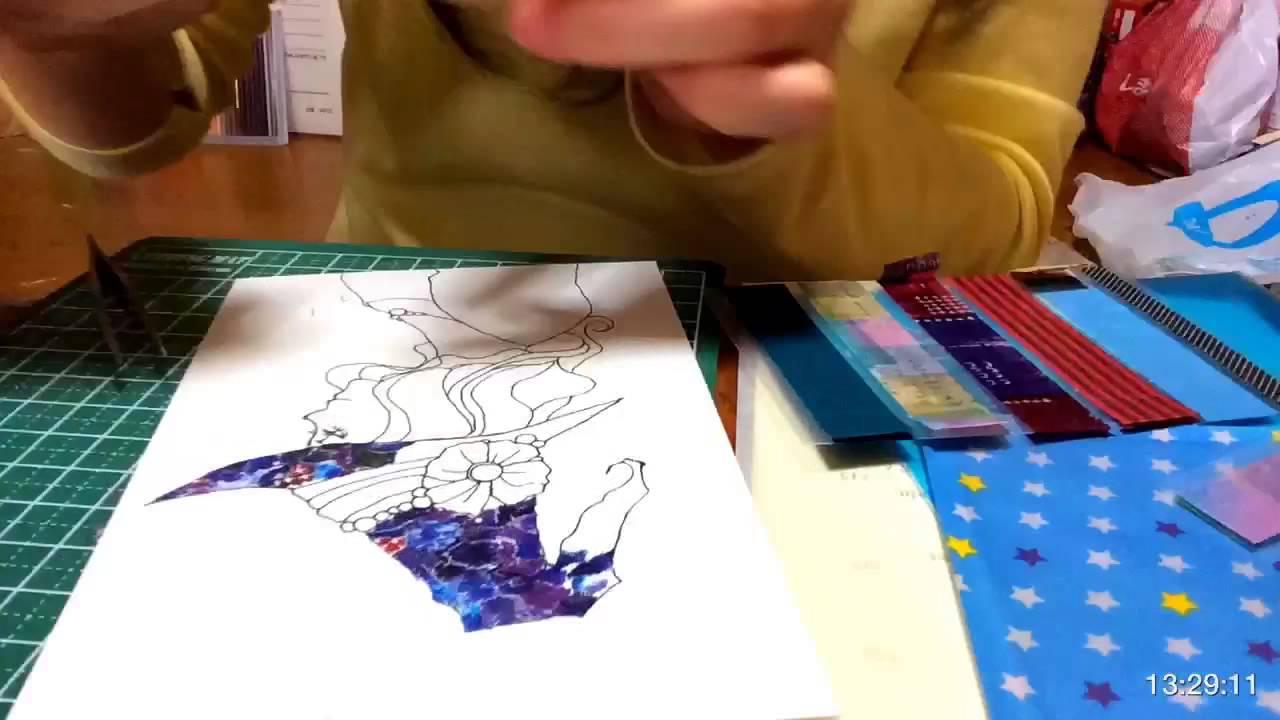 マスキングテープアートに挑戦してみた Youtube