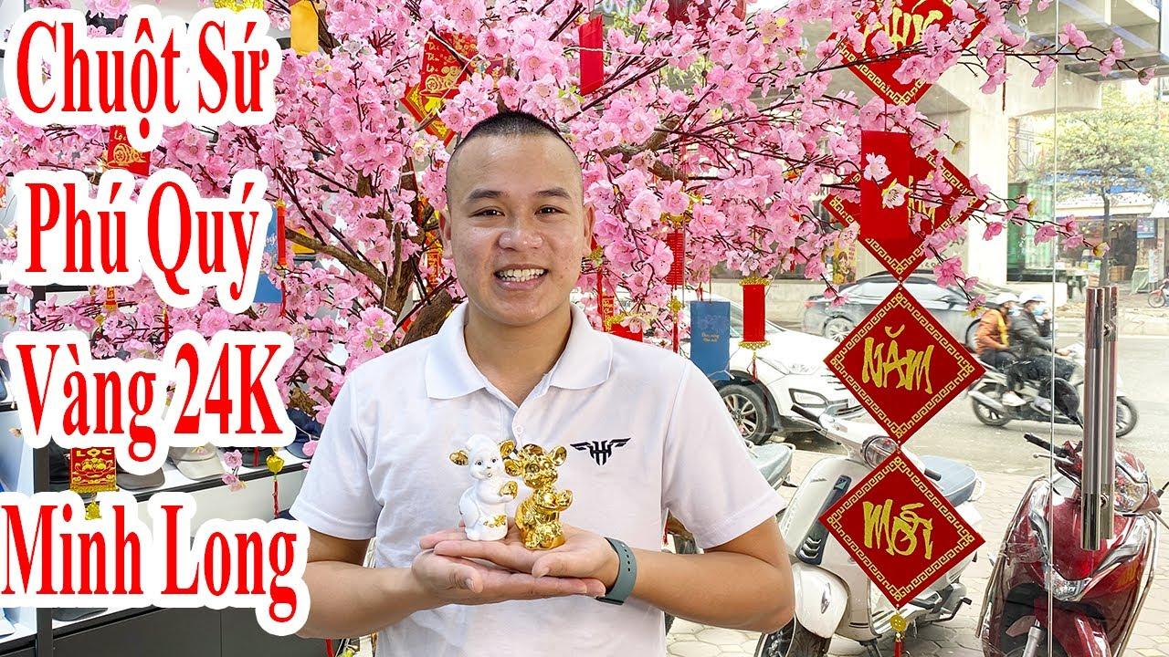 Đập Hộp Chuột Phú Quý Phiên Bản Vàng 24K Của Gốm Sứ Minh Long I