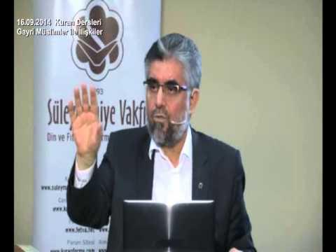 Prof Dr Abdülaziz BAYINDIR – Kuran'ı Kerim'deki Savaş Esiri Kadının (Cariye) Evliliği