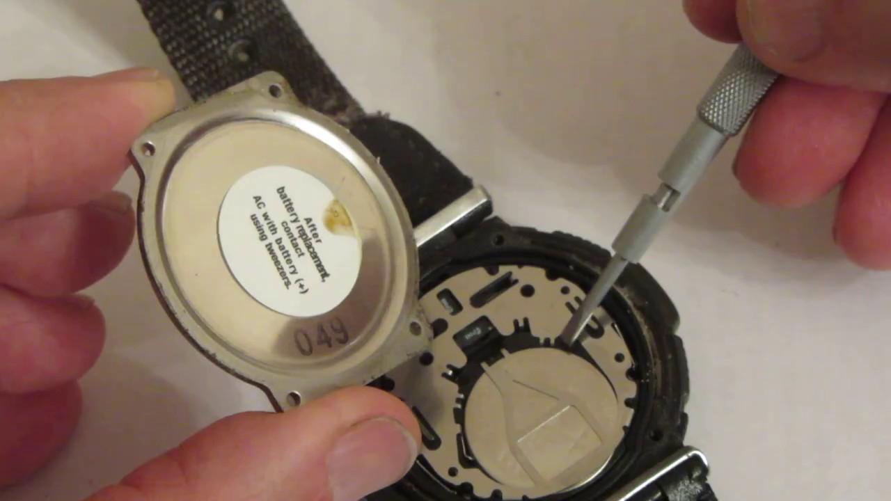 Замена батарейки в часах casio своими руками фото 420