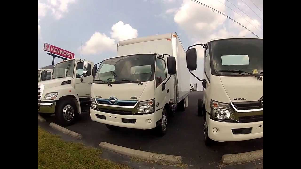 New Hino Hybrid 195h Box Truck Enterprises Inc