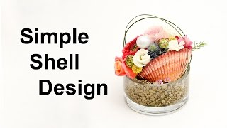 Simple Shell Table Design   Easy And Fun Arrangement