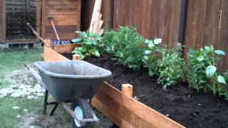 Building A Raised Garden Bed - Part 2