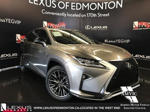 2017 Atomic Silver Lexus Rx 350 Awd F Sport Series 2 In Depth Review West Edmonton Alberta