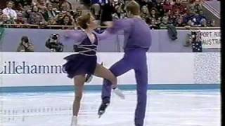 Repeat youtube video Jane Torvill & Christopher Dean 1994  Lillehammer Olympics EX Bolero Ice Dancing
