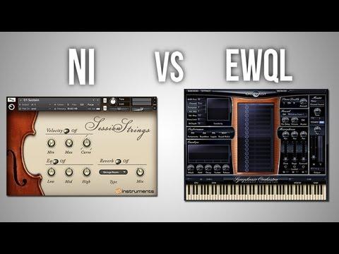 NI Session Strings vs EWQL Symphonic Orchestra