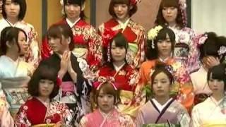 AKB48&SKE48 2012年新成人メンバー 記者会見の模様