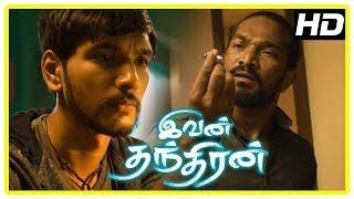 Ivan Thanthiran Movie Scenes | Super Subbarayan stabs Stunt Silva | Gautham