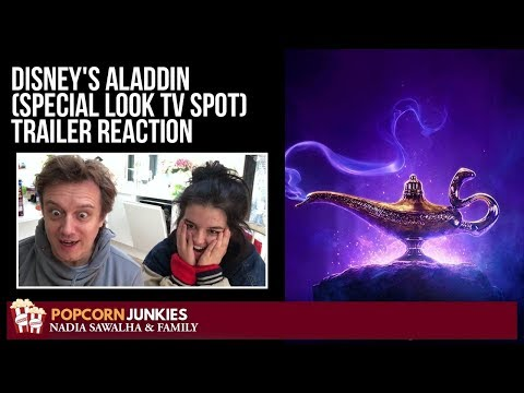 Disney's Aladdin (Special Look TV Spot) Trailer - Nadia Sawalha & Family Reaction