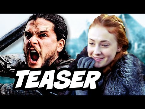 Game Of Thrones Season 7 Announcement Teaser and Jon Snow vs Sansa Stark