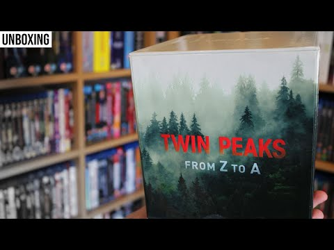 TWIN PEAKS From Z To A 4K Blu-Ray Box Set UNBOXING // Physical Media // The Movie Vault