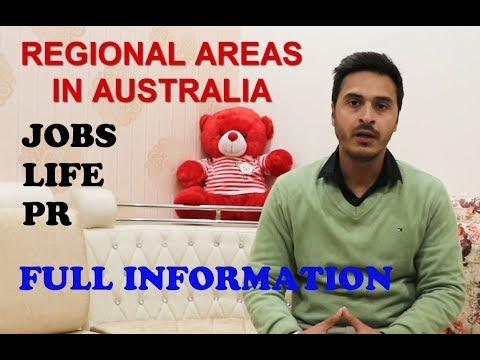 REGIONAL AREAS IN AUSTRALIA FOR PR || FULL INFORMATION