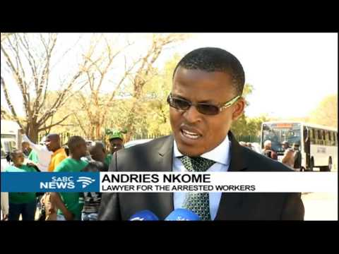 Calls mount for the dropping of charges against Marikana miners