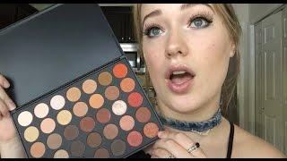 MORPHE 35O FIRST IMPRESSION, SWATCHES AND REVIEW