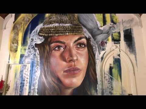 ALJ215 Benalla Wall To Wall Street Art Festival Video