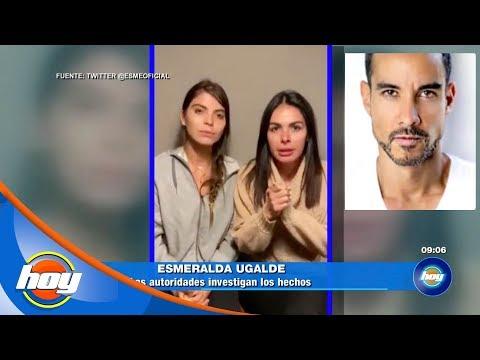 Esmeralda Ugalde y Vanessa Arias denuncian secuestro del actor Alejadro Sandí | Hoy