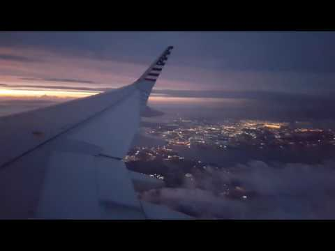 Relaxing Plane Sound with Lightning Storm while Flying