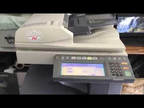 Hướng dẫn cài máy photocopy Toshiba E282/283/452/453 copy, in, scan qua mạng