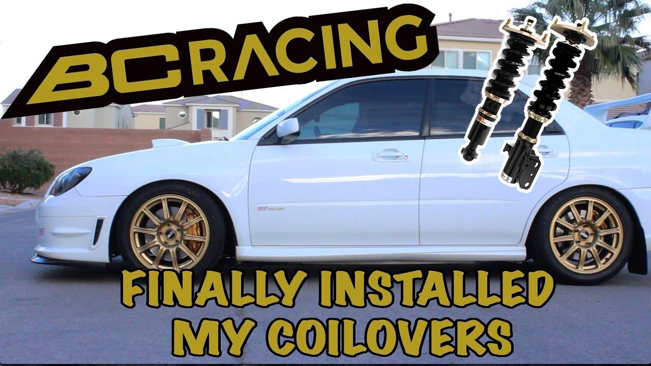 BC Coilovers Install | 05-07 Subaru WRX STI