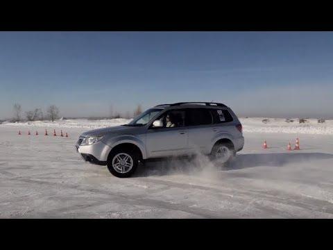 Уроки Экстремального вождения на льду, Зимняя контраварийная подготовка БЦВВМ. Барнаул Алтай