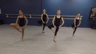 Dance Technique // Across the floor - Leaps, Turns & Extensions