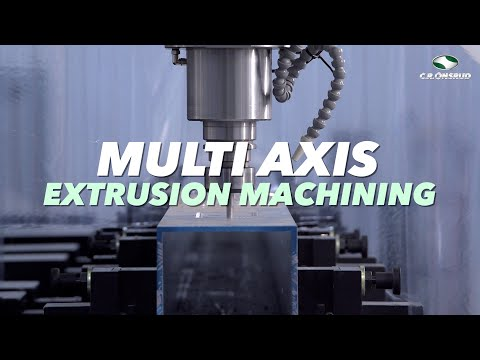 Multi Axis Aluminum Extrusion Milling, Tapping, and Sawing -  the C.R. Onsrud EX-Series