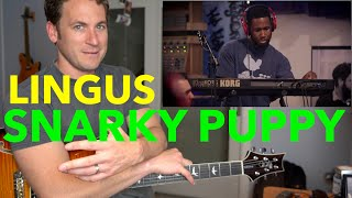 Guitar Teacher REACTS: SNARKY PUPPY 'Lingus' (We Like It Here) OMG Cory Henry