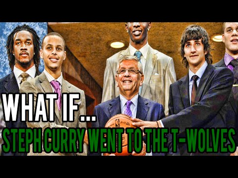 What If Steph Curry Was Drafted By The Timberwolves?