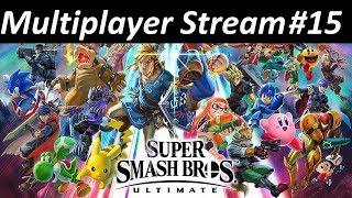 Kratos Streams Super Smash Bros Ultimate Multiplayer Part 15: Broken Again?