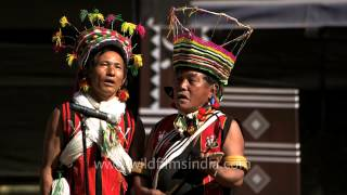 Romantic folk song performed by Zeliang Naga