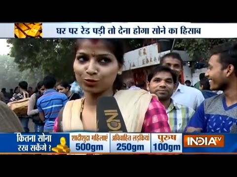 Public Reaction over Gold Holding Rules Announced by Modi Government
