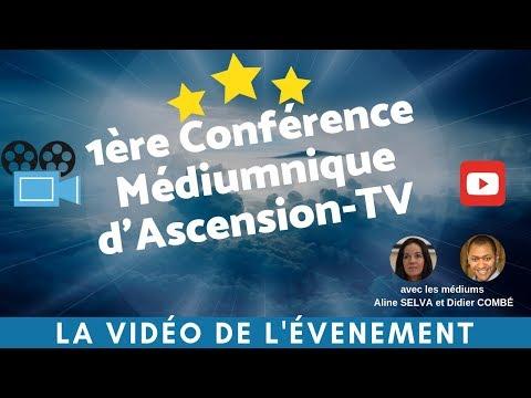 [REPLAY] 1ère Conférence Médiumnique d'Ascension-TV au Forum 104 à Paris