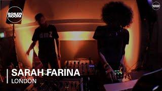Sarah Farina Boiler Room London DJ Set