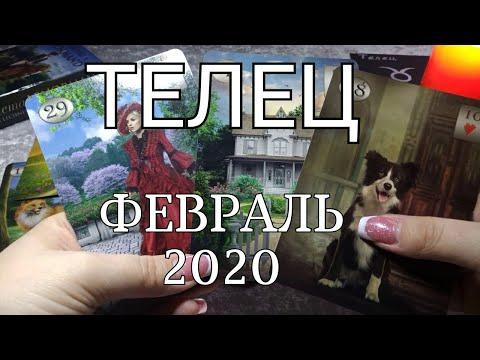 ТЕЛЕЦ. ЛЮБОВНЫЙ таро-прогноз на ФЕВРАЛЬ 2020. Онлайн гадание.