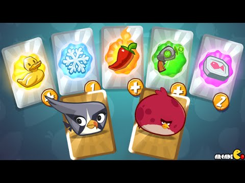 Angry Birds Under Pigstruction - BOSS Level ALL SPECIAL Power Unlocked!iOS/Android