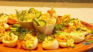 Фаршированные яйца - Рецепт Бабушки Эммы