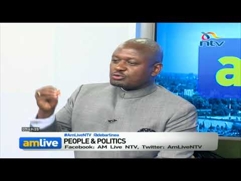 Otiende Amollo says Jubilee's cabinet is illegal in terms of ethnicity and gender