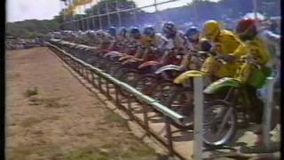 British 500cc Motocross GP Hawkstone Park 1984 Part 1